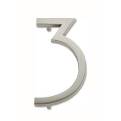 Atlas Homewares Brushed Nickel House Number AVN3-BRN