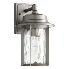 Quorum Lighting Charter Graphite Outdoor Wall Light