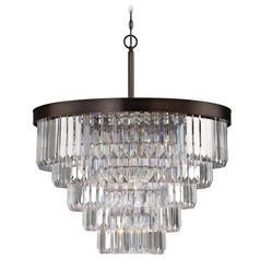 Savoy House Burnished Bronze Chandelier