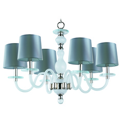 Maxim Lighting International Venezia Polished Nickel Chandelier