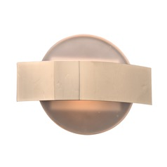 PLC Lighting Darius Polished Chrome Sconce