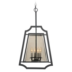 Savoy House Lighting Ives Empyrean Pendant Light with Square Shade