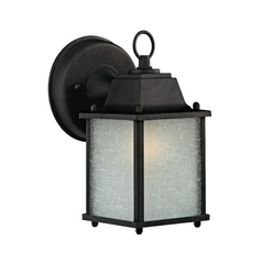 Small Outdoor Wall Light - 8-3/4-Inches Tall