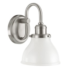 Capital Lighting Baxter Brushed Nickel Sconce