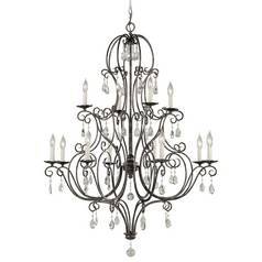Chandelier in Mocha Bronze Finish