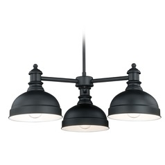 Keenan Oil Rubbed Bronze Chandelier by Vaxcel Lighting