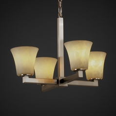 Justice Design Group Clouds Collection Chandelier