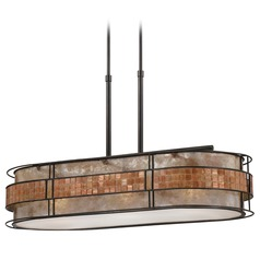 Copper ceiling lights copper light fixtures drum pendant light in renaissance copper finish aloadofball Gallery