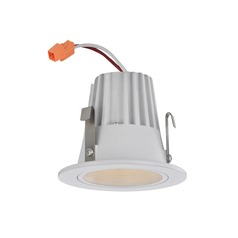 Cone Trim LED Recessed Module for 2-Inch Cans - White Finish