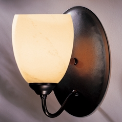 Hubbardton Forge Lighting Simple Lines Dark Smoke Sconce