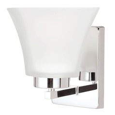 Sea Gull Lighting Bayfield Chrome Sconce