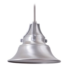 Craftmade Lighting Union Satin Aluminum Outdoor Hanging Light