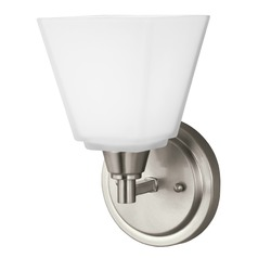 Sea Gull Lighting Parkfield Brushed Nickel LED Sconce