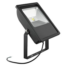 LED Flood Light Black 70-Watt 120v-277v 6760 Lumens 4000K 110 Degree Beam Spread