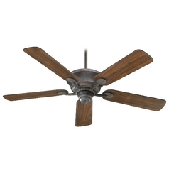 Quorum Lighting Liberty Toasted Sienna Ceiling Fan Without Light