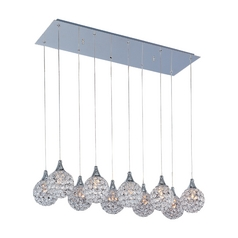 Modern Multi-Light Pendant Light 10-Lights