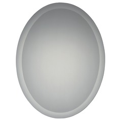 Quoizel Reflections Oval 22-Inch Mirror
