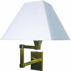 Lite Source Lighting Swinger Ii Polished Brushed Steel Swing Arm Lamp