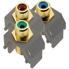 Legrand Adorne Component Video RCA to F Kit