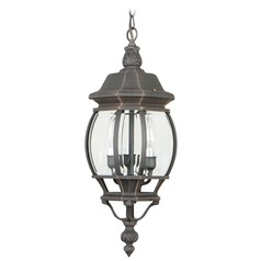 Craftmade Lighting French Style Rust Outdoor Hanging Light