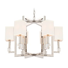 Crystorama Lighting Dixon Polished Nickel Chandelier