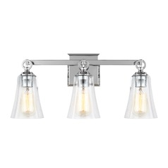 Feiss Lighting Monterro Chrome Bathroom Light