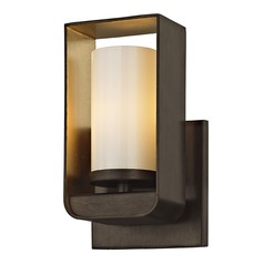 Troy Lighting Escape Bronze / Gold Leaf LED Sconce