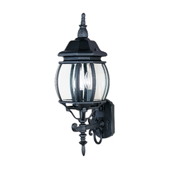 Maxim Lighting Crown Hill Black Outdoor Wall Light