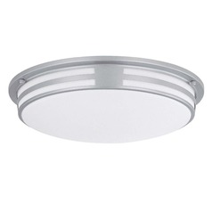 Lite Source Vascello Silver Flushmount Light
