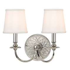 Hudson Valley Lighting Yates Polished Nickel Sconce