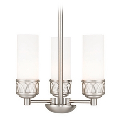 Livex Lighting Westfield Brushed Nickel Mini-Chandelier