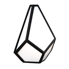 Feiss Lighting Diamond Black Sconce