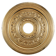 Medallion in Gold Finish