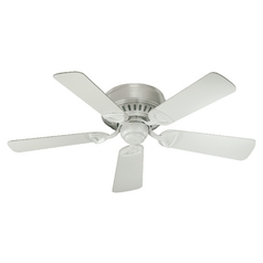Quorum Lighting Medallion Studio White Ceiling Fan Without Light