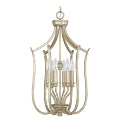 Capital Lighting Bailey Winter Gold Pendant Light