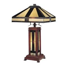 Design Classics Lighting Tiffany Table Lamp 5971-1-105/34