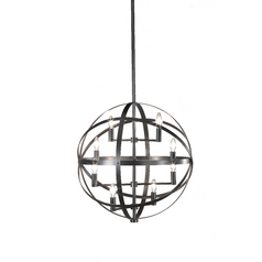 Robert Abbey Lighting 8-Light Modern Orb Pendant Z2164