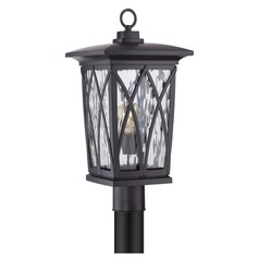 Quoizel Grover Mystic Black Post Light