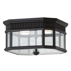 Feiss Lighting Cotswold Lane Black LED Close To Ceiling Light