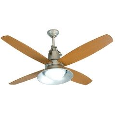 Craftmade Lighting Union Galvanized Ceiling Fan with Light