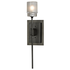 Hubbardton Forge Lighting Echo Dark Smoke Sconce