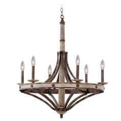 Kalco Lighting Coronado Florence Gold Chandelier
