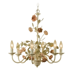 Ramblin' Rose Chandelier
