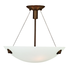 Access Lighting Noya Bronze Semi-Flushmount Light