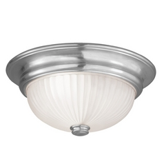 Livex Lighting Viper Brushed Nickel Flushmount Light