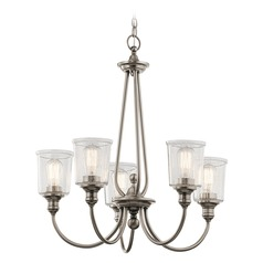 Kichler Lighting Waverly Classic Pewter Chandelier