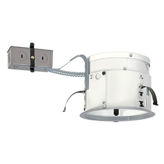 Juno Recessed 6-Inch Non-IC Remodel Can