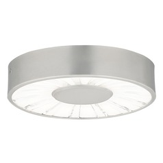 LED Outdoor Ceiling Light Satin Nickel by Tech Lighting