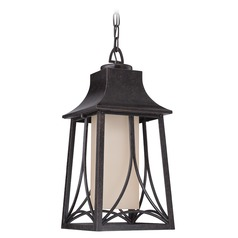 Quoizel Hunter Imperial Bronze Outdoor Hanging Light