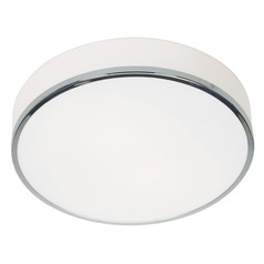 Access Lighting Aero Chrome LED Flushmount Light